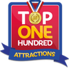 top 100 attractions
