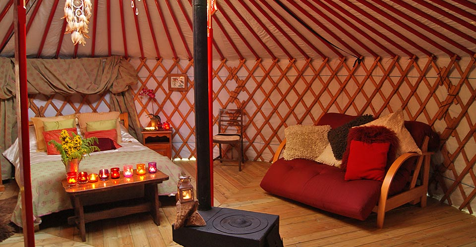 yurt in snowdonia